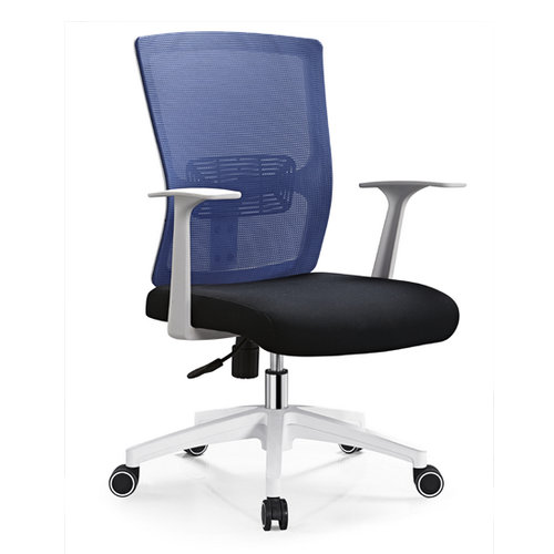 low price comfortable white mesh office computer chair staff durable task swivel chair on sale. Black Bedroom Furniture Sets. Home Design Ideas