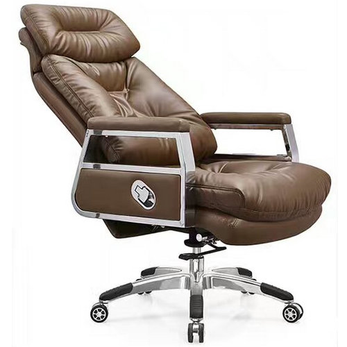 High back quality manager ergonomic computer leather ...