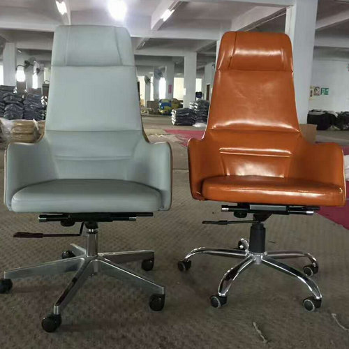 luxury high back genuine leather executive office chair big and tall