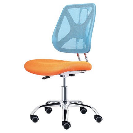 Guangzhou Adjustable Height Staff Operator Office Chair Without Armrest Employee Moving Drafting Seating Office Chairs In Alibaba