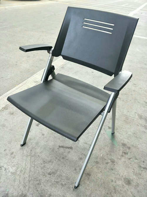 Hot Stackable Office Visitor Chair Training Staff Used