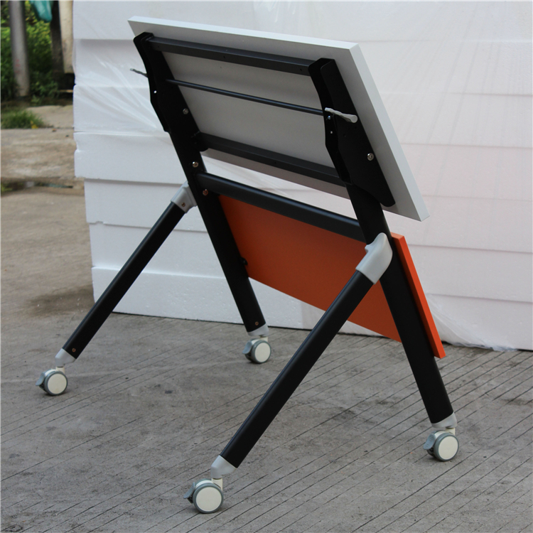 Metal Movable Folding Computer Training Table Bracket With